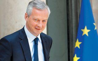 """Ο Γάλλος υπουργός Οικονομικών Μπρινό Λε Μερ υποστηρίζει πως «οι εγκληματίες και οι τρομοκράτες εκμεταλλεύονται τα κενά και τα """"παραθυράκια"""", υπονομεύοντας την εμπιστοσύνη στο χρηματοπιστωτικό μας σύστημα και την εντολή που μας έχει ανατεθεί να προστατεύσουμε τις οικονομίες και τους πολίτες μας»."""