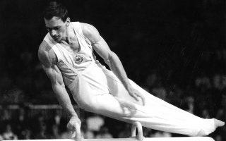 Ο Μ. Τσέραρ, ένας από τους σπουδαιότερους Σλοβένους γυμναστές από την εποχή της πρώην Γιουγκοσλαβίας