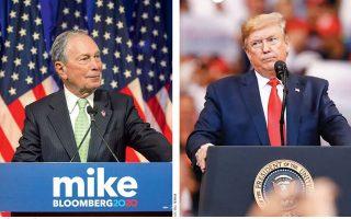 Ο Μάικλ Μπλούμπεργκ έχει εντυπωσιακό βιογραφικό. Από τραπεζίτης εξελίχθηκε σε μεγιστάνα με μια εκδοτική αυτοκρατορία. Παράλληλα, εξελέγη για τρεις συνεχόμενες θητείες δήμαρχος της Νέας Υόρκης, από το 2001 έως το 2013. Θεωρεί, δε, πως μπορεί να επικρατήσει του Τραμπ στις προεδρικές εκλογές.