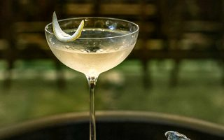 Dry Martini στο Bunuel Uptempo bistro. (Φωτογραφία: Χριστίνα Γεωργιάδου)
