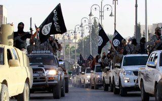 Εισβολή τζιχαντιστών του ISIS στη Ράκα το 2014. Ο Ιρακινός που συνελήφθη στην Ελλάδα φέρεται να είχε περάσει και από εκεί. REUTERS/Stringer