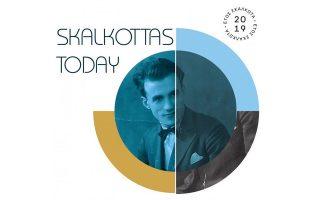 Η αφίσα για το συνέδριο «Skalkottas today» που αρχίζει στις 29 Νοεμβρίου στη Μουσική Βιβλιοθήκη «Λίλιαν Βουδούρη», στο Μέγαρο Μουσικής.