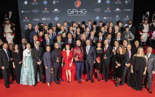 Οι νικητές και η κριτική επιτροπή του GPHG 2019