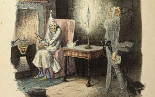 Στο τέλος της «Χριστουγεννιάτικης ιστορίας» του Ντίκενς είναι χαρακτηριστική η μεταστροφή του Σκρουτζ χάρη στις φασματικές επισκέψεις που δέχεται, με πιο τρομακτικό απ' όλα το φάντασμα του μέλλοντος, το οποίο του δείχνει κάτι συντριπτικό: ότι σχεδόν κανένας δεν θα θέλει να τον θυμάται μετά τον θάνατό του.