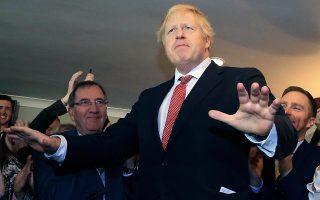 Ο Μπόρις Τζόνσον, το Σάββατο, στο Ντέραμ της ΒΑ Αγγλίας, δύο ημέρες μετά την εκλογική νίκη του.