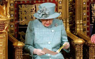 Την ομιλία για την έναρξη της νέας κοινοβουλευτικής περιόδου εκφώνησε χθες η βασίλισσα Ελισάβετ.
