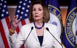 H Δημοκρατική πρόεδρος της Βουλής των Αντιπροσώπων, Νάνσι Πελόσι, στη σχετική δήλωσή της επέλεξε αυστηρούς τόνους.
