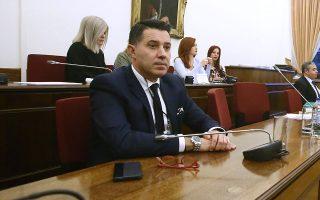 Αίσθηση προκάλεσαν όσα αποκάλυψε στην τριήμερη κατάθεσή του στην Προανακριτική ο Νίκος Μανιαδάκης. INTIME NEWS/ΣΤΕΛΙΟΣ ΣΤΕΦΑΝΟΥ