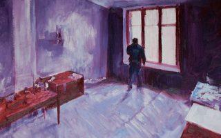 «Πρωινό φως με έξοδο», έργο του Γιώργου Λουλούδη από την έκθεσή του στην Genesis Gallery (Χάρητος 37). Διάρκεια έως 14 Δεκεμβρίου.