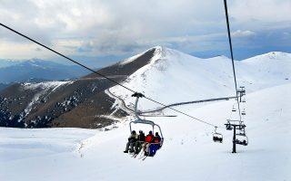 Χιονοδρομικό Κέντρο Φαλακρού.  (Φωτογραφία: ΚΛΑΙΡΗ ΜΟΥΣΤΑΦΕΛΛΟΥ)