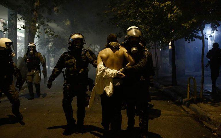 Yπ. Προστασίας του Πολίτη για τις εικόνες αστυνομικής βίας: «Δεν υπήρξε ακραία καταστολή»
