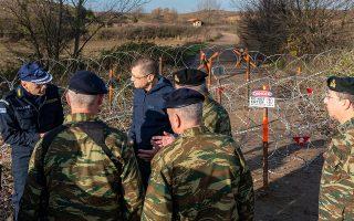 Επίσκεψη του υφ. Εθνικής Άμυνας Αλκ. Στεφανή, το διήμερο 13 και 14 Δεκεμβρίου 2019, στον Έβρο