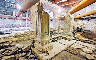 «Η μόνη εφαρμόσιμη λύση είναι η απόσπαση και επανατοποθέτηση των αρχαιοτήτων, η οποία μάλιστα θα γίνει σε ποσοστό 92%», τονίζει ο Κωνσταντίνος Ζέρβας.