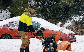 Mετά την Πρωτοχρονιά η κακοκαιρία αναμένεται να επανακάμψει με νέο κύμα χιονοπτώσεων και τσουχτερό κρύο.