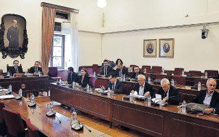 Ολοκληρώθηκε χθες η κατάθεση του αντεισαγγελέα του Αρείου Πάγου Ιω. Αγγελή στην προανακριτική επιτροπή.