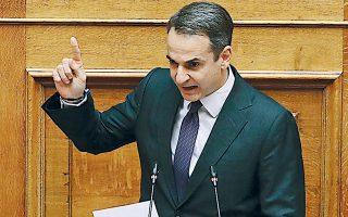 Ο Κυρ. Μητσοτάκης χαρακτήρισε τον πρώτο προϋπολογισμό της κυβέρνησής του έναν «αισιόδοξο οδικό χάρτη για τη νέα πορεία της Ελλάδας».
