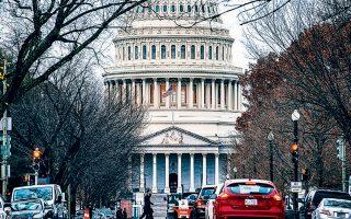 Το Καπιτώλιο υποδέχθηκε χθες τα μέλη της νομοθετικής εξουσίας μετά τις διακοπές της Ημέρας των Ευχαριστιών.