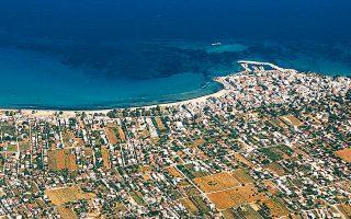 Το δεύτερο έργο, προϋπολογισμού 70 εκατ. ευρώ, αφορά την κατασκευή 192 χλμ. αποχετευτικού δικτύου, που θα καλύψει τους οικισμούς των Σπάτων και της Χριστούπολης, καθώς και το βόρειο τμήμα της Αρτέμιδας (φωτογραφία).