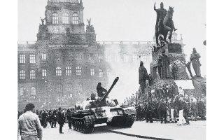 Οι τσεχοσλοβακικές μεταρρυθμίσεις της Ανοιξης της Πράγας, τον Αύγουστο του 1968, καταπνίγηκαν από τα σοβιετικά στρατεύματα και τις δυνάμεις των κρατών του Συμφώνου της Βαρσοβίας.