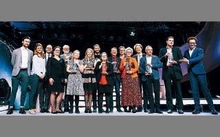 Στη λαμπερή τελετή του Βερολίνου βραβεύθηκαν από το Ινστιτούτο Innovation in Politics (Καινοτομία στην Πολιτική) οκτώ τελικοί νικητές, ένας για κάθε κατηγορία: Κοινότητα, Οικολογία, Δημοκρατία, Ανθρώπινα Δικαιώματα, Πολιτισμός, Εργασία, Ευημερία και Ποιότητα Ζωής.