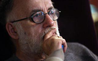 Φωτογραφία αρχείου του Θάνου Μικρούτσικου . Ο μεγάλος μουσικός κατέληξε, σε ηλικία 72 ετών, από καρδιοαναπνευστική ανακοπή στο νοσοκομείο Μετροπόλιταν όπου νοσηλευόταν τις τελευταίες εβδομάδες όπου έδινε μάχη με τον με τον καρκίνο. ΑΠΕ - ΜΠΕ/ΑΠΕ - ΜΠΕ/Αλέξανδρος Μπελτές