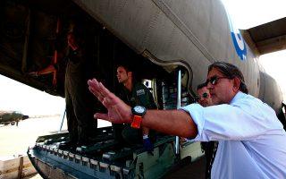 Ως υφυπουργός Εξωτερικών, ο Δημήτρης Δόλλης είχε επισκεφτεί την Τρίπολη τον Ιανουάριο του 2011. Στο περιθώριο των επαφών του επέβλεψε την παράδοση ανθρωπιστικής βοήθειας.