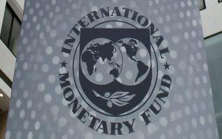 Το ΔΝΤ καλεί την κυβέρνηση να συγκρατήσει τους μισθούς στον δημόσιο τομέα.