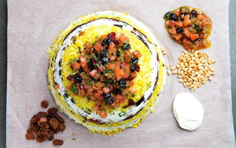 Μεσανατολίτικη maqlοοba, χορτοφαγική