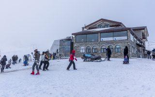 Το Χιονοδρομικό Κέντρο Βόρας - Καϊμακτσαλάν (Ν.Πέλλας) είναι το ψηλότερο της χώρας