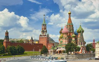 Το Κρεμλίνο, Μόσχα (φωτ. ΑΡ)
