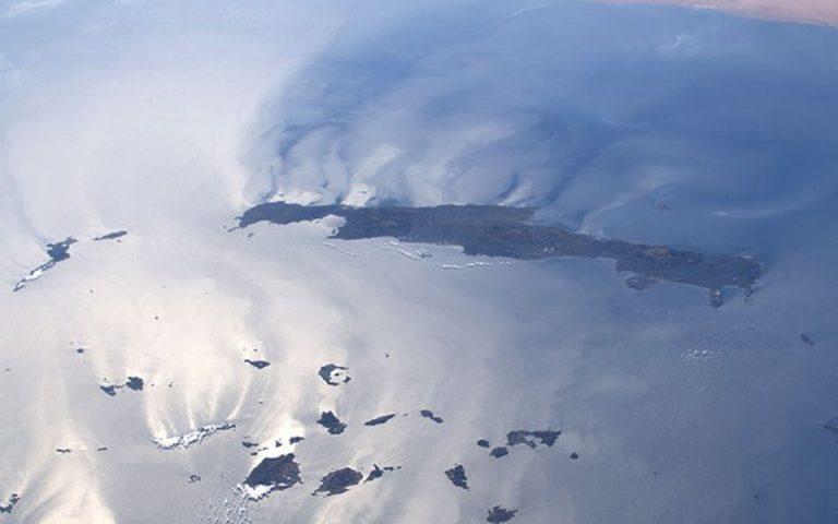 Η Κρήτη και οι Κυκλάδες από τον Διεθνή Διαστημικό Σταθμό (φωτογραφία)