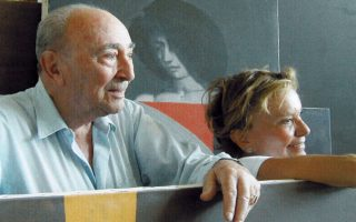 Πέγκυ Ζουμπουλάκη και Γιάννης Μόραλης. Φίλοι για πάντα.