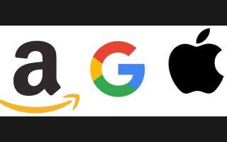 google-apple-amazon-synergasia-giganton-gia-pio-symvates-exypnes-syskeyes0