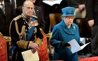 Ο σύζυγος της βασίλισσας Ελισάβετ, Φίλιππος, από το 2017 έχει αποσυρθεί από την εκτέλεση των βασιλικών καθηκόντων του. EPA