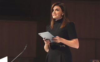 Κα. Θάλεια Καραφυλλίδου, Editor in Chief της Vogue Greece