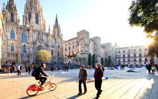 Ο καθεδρικός ναός της Βαρκελώνης. (Φωτογραφία: VISUALHELLAS.GR)