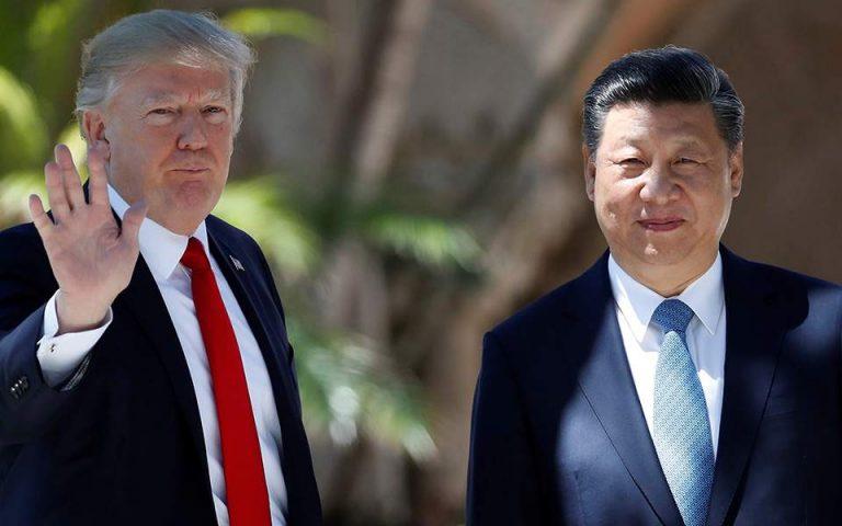 Τραμπ: Πολύ σύντομα η υπογραφή της εμπορικής συμφωνίας με την Κίνα