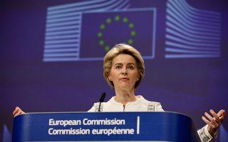 «Η Ευρωπαϊκή Πράσινη Συμφωνία δεν είναι απλώς αναγκαιότητα: θα αποτελέσει κινητήρια δύναμη για νέες οικονομικές ευκαιρίες», αναφέρει η κ. Ούρσουλα φον ντερ Λάιεν.