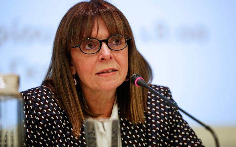 Πρόεδρος της Δημοκρατίας εξελέγη η Αικατερίνη Σακελλαροπούλου
