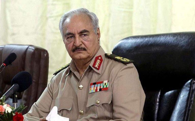 Εκεχειρία στη Λιβύη: Ανέστειλε τις επιχειρήσεις ο στρατάρχης Χαφτάρ
