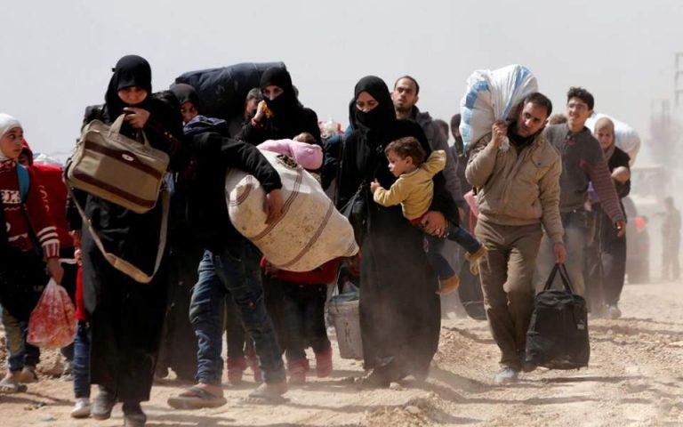 Συρία: Πέντε εκατομμύρια παιδιά εκτοπίστηκαν ή μετατράπηκαν σε πρόσφυγες εξαιτίας του πολέμου