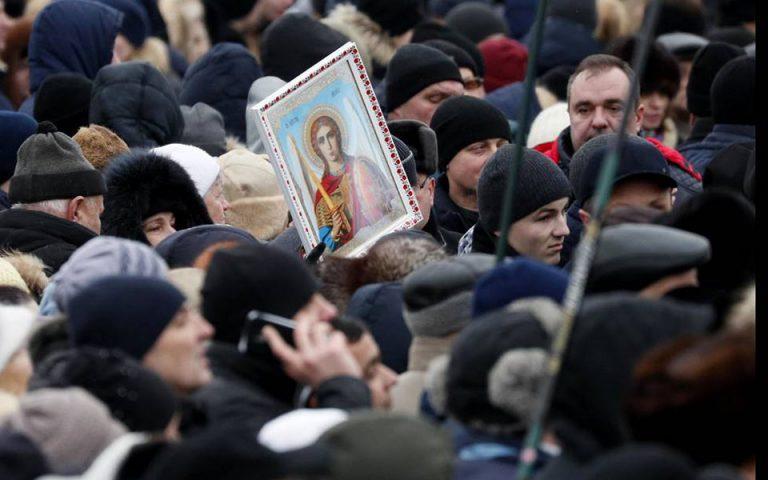 Εορταστικές εκδηλώσεις για τον ένα χρόνο ανεξαρτησίας της Ουκρανικής Εκκλησίας