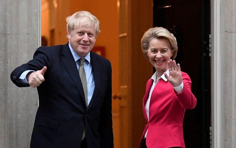 Φον ντερ Λάιεν σε Τζόνσον: Αδύνατη μια πλήρης συμφωνία για το Brexit εντός του 2020