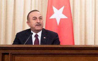 Ο υπουργός Εξωτερικών της Τουρκίας, Μεβλούτ Τσαβούσογλου, υποστήριξε ότι η Ελλάδα δεν έχει καμία θέση στο ζήτημα της Λιβύης.