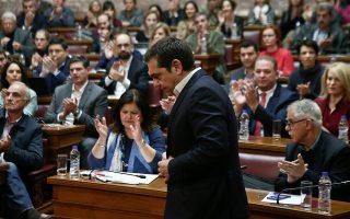 Ο αρχηγός της αξιωματικής αντιπολίτευσης Αλέξης Τσίπρας (στιγμιότυπο από παλαιότερη ομιλία του στην κοινοβουλευτική ομάδα του) θέλει να επαναφέρει τον ΣΥΡΙΖΑ σε τροχιά εξουσίας. Τα τεκταινόμενα στη βάση του κόμματος, όμως, απομακρύνουν αυτό το σενάριο. INTIME NEWS/ΠΑΝΑΓΙΩΤΗΣ ΤΖΑΜΑΡΟΣ