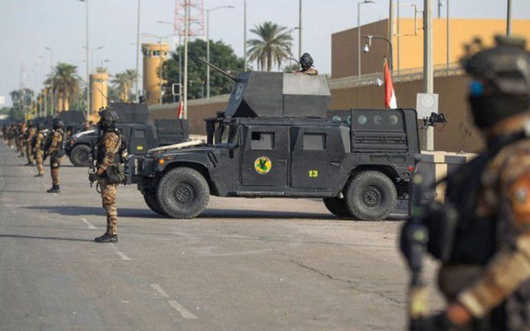 Ιράκ: Τρεις ρουκέτες έπεσαν κοντά στην αμερικανική πρεσβεία στη Βαγδάτη