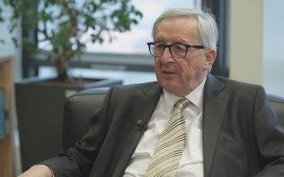 «Ημουν εναντίον της συμμετοχής του ΔΝΤ το 2010. Το είχα πει στη Μέρκελ. Οπως η Καλιφόρνια όταν είχε προβλήματα δεν πήγαινε στο Ταμείο, αλλά στην Ουάσιγκτον, γιατί εμείς οι Ευρωπαίοι να χρειαζόμαστε μία τέτοια βοήθεια;», λέει ο Ζαν-Κλοντ Γιούνκερ.