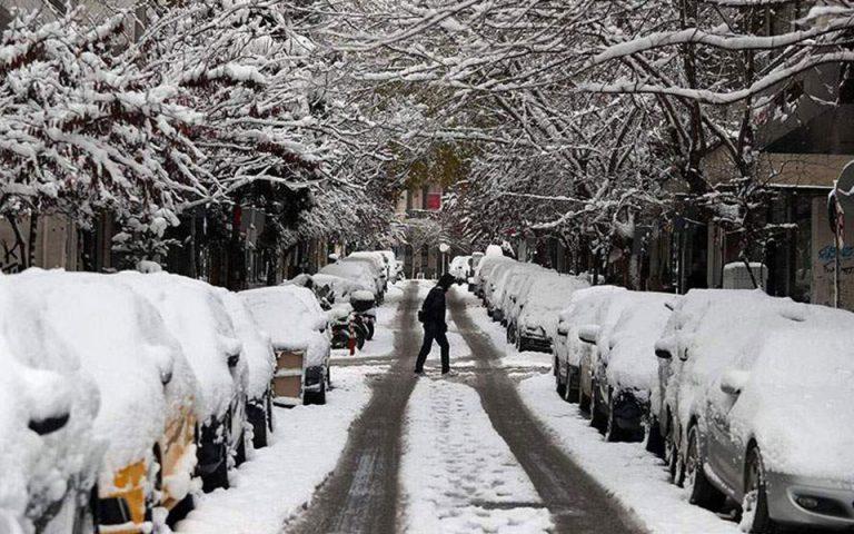 Χιονοπτώσεις και στα χαμηλά υψόμετρα φέρνει ο «Ηφαιστίων»