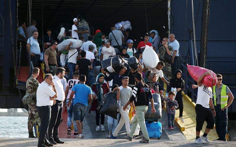 Σάμος: Σε στρατόπεδο φιλοξενίας στη Ριτσώνα θα μεταφερθούν 634 αιτούντες άσυλο
