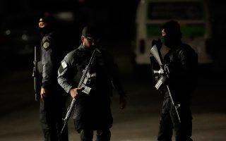1.810 άτομα έχασαν τη ζωή τους από τα πυρά της αστυνομίας κατά τη διάρκεια του περασμένου έτους ή κατά μέσο όρο πέντε την ημέρα, ο ψηλότερος αριθμός από το 1998. AP/SILVIA IZQUIERDO